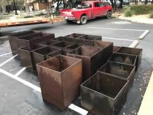 Steel Planter Boxes