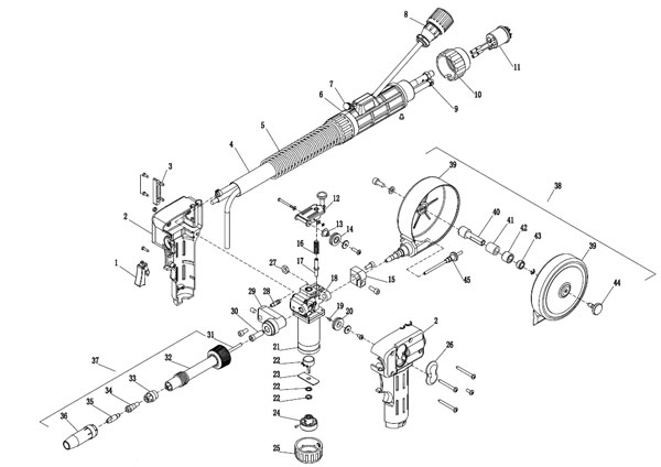 Gas Metal Arc Welding Torch Introduction, China MAG/MIG