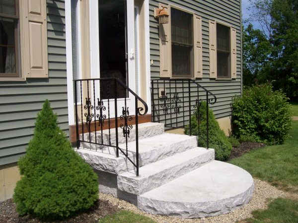 Wrought Iron Stair Railings Outdoor Steps