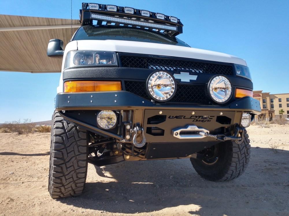 medium resolution of stealth warn winch bumper