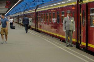 Train St-Petersburg