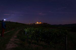 Vezelay by night