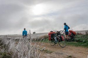 Camino frances cold