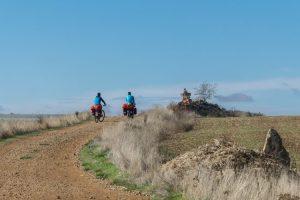 Camino Frances fietsen naar Compostela