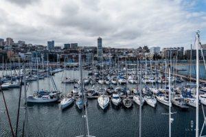 yacht club of Las Palmas