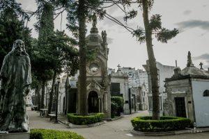 La Recoleta cemetery in Buenos Aires South America