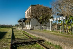 Abandoned train station in Carlos Keen