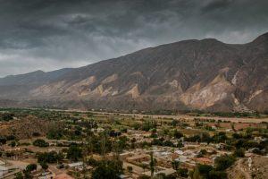 Coloured mountain hills in the Quebrada de Humahuaca