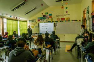 Teaching english in a secondary school in La Junta