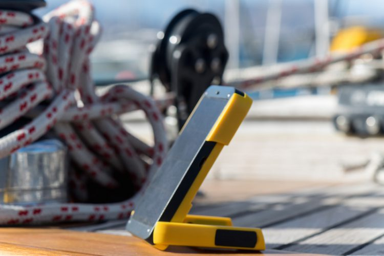 WakaWaka Power+ on a sailing boat