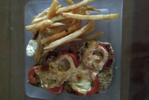 Cooking milanesa completa while living in Argentina