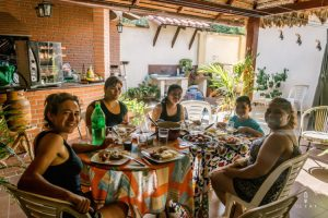 Family lunch in Bolivia