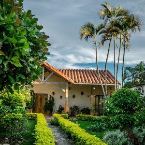 House in Santa Cruz in colonial style