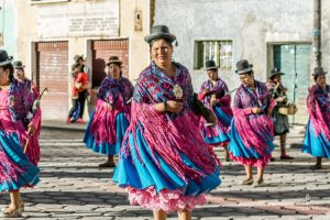 traditional festival in Bolivia