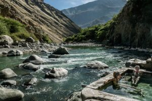 hot springs in Llahuar in the Colca Canyon