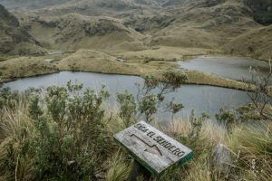 hiking trails in cajas national park