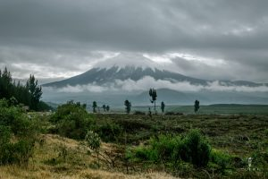 Morning view on Cotopaxi