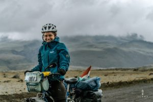 cycling in parque nacional cotopaxi