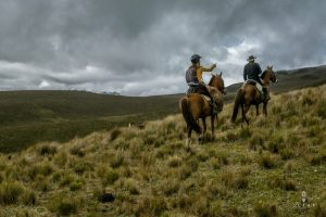 horse riding in cotopaxi national park