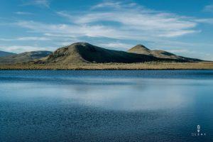 Lakes in Reserva Ecologica El Angel