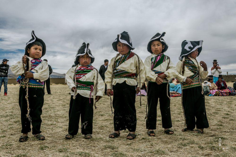 foklore dansfestival voor kinderen in Peru