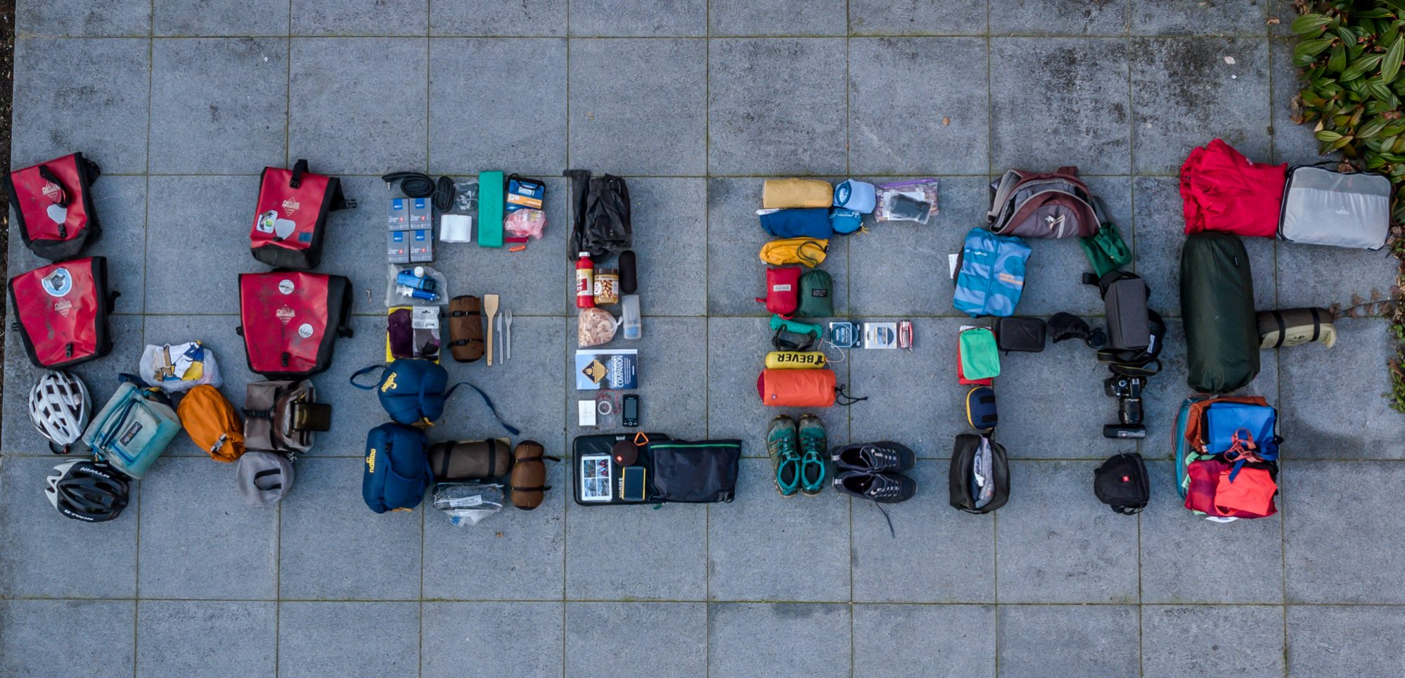 gear list bicycle touring