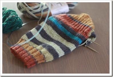 rusty mom sock