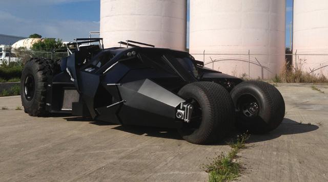 La rplique de la voiture du film de Batman est en vente