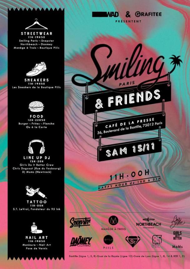 event smiling paris