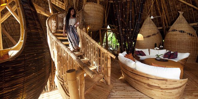 Insolite  Elle ralise des maisons uniquement en bambou et le rsultat est incroyable
