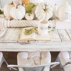 Diy Living Room Table Decor Modern Country Style Designs Forest Fall Autumn Woodland Animal Children S Tea Party Dining Farmhouse Neutral White Pumpkin Thanksgiving Tablescape