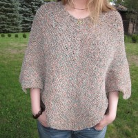 Make Your Own Perseverance Poncho! -Vintage Knitting Pattern
