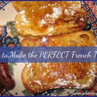 Cooking with Cast Iron-How to Make the Perfect French Toast!