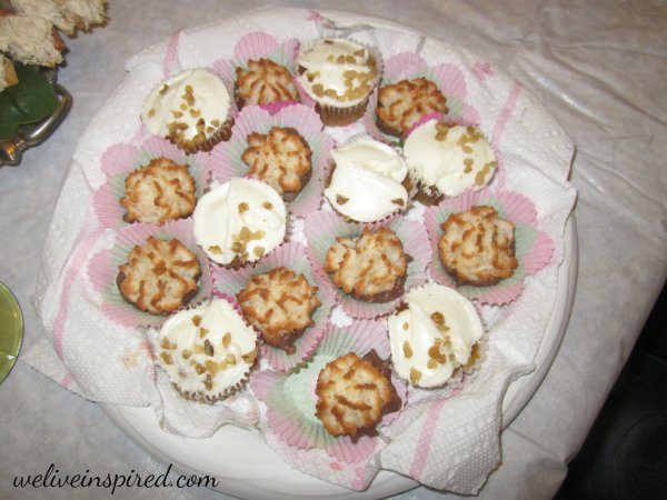 Tea Party Treats the Guests Brought