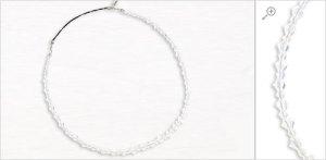 H1-0797 Sparkling Clear Auroa Borealis Headband Lilla Rose