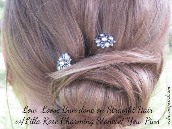 Hair  Updos with Rhinestones
