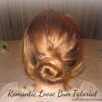 Jane Austen Inspired Hairstyle-Romantic Loose Bun Tutorial for Weddings Proms and Parties