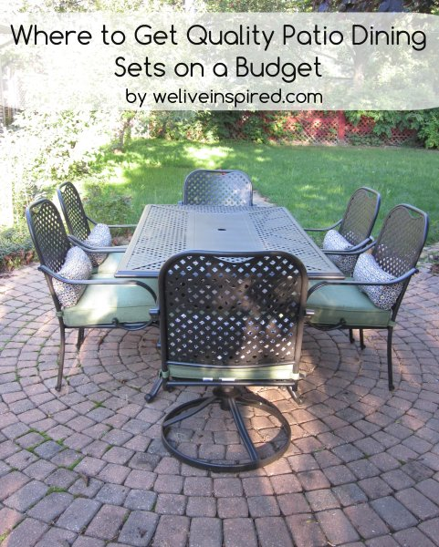 home depot quality patio dining sets for lower costs