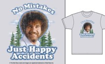 Bob Ross T-shirts