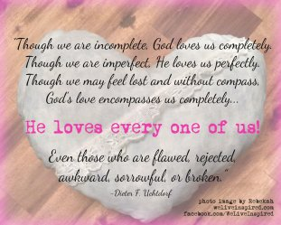 God loves us quote