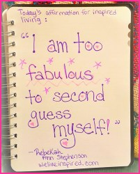 im fabulous affirmation