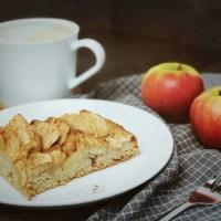 Veganer Apfelkuchen vom Blech