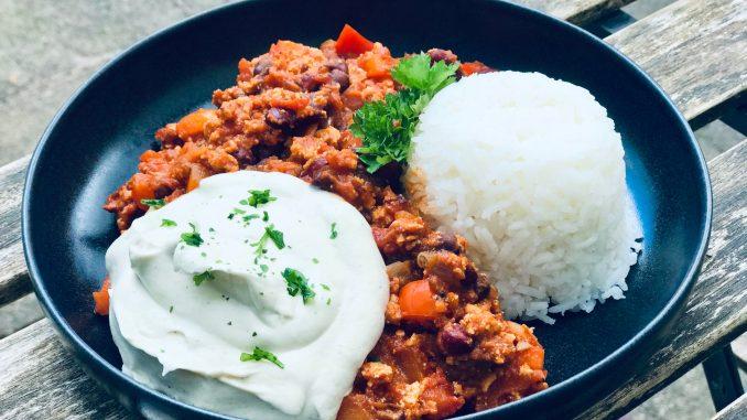 Chili sin carne | Vollwertig pflanzliche Ernährung | vegan