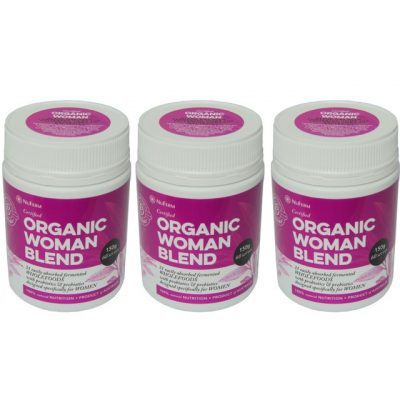 Organic Woman pack of 3