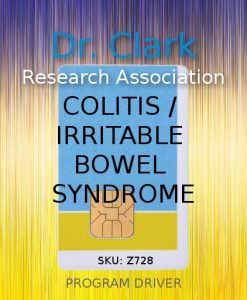 Colitis / Irritable Bowel Syndrome driver card