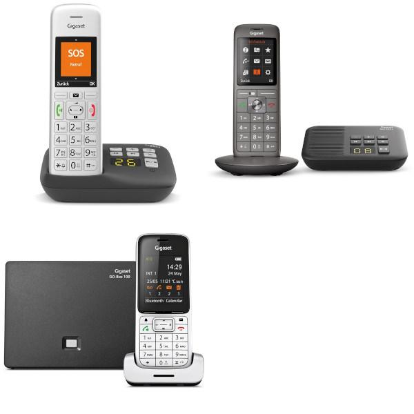 """""""gut"""" im Test von Stiftung Warentest 4/2018 und 4/2021: Schnurlose Telefone für alle Anschlüsse"""