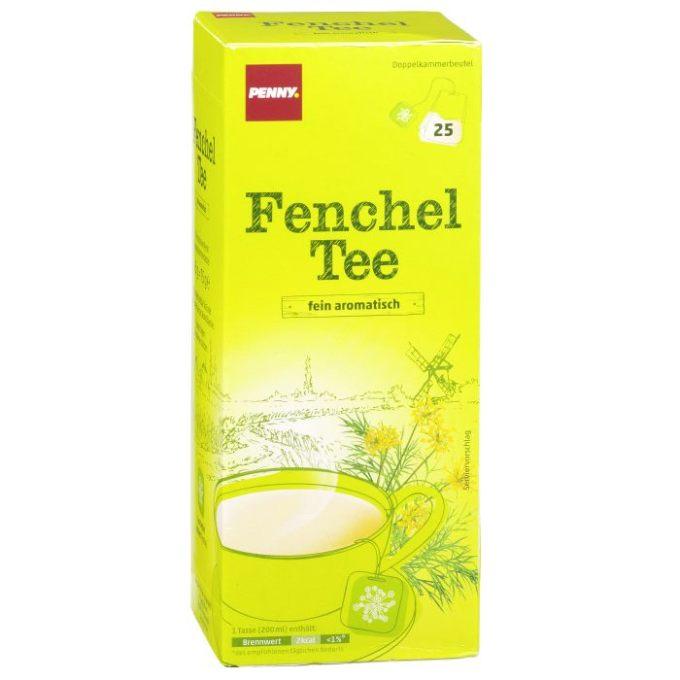 """Testsieger und """"sehr gut"""" im Test von Öko-Test 4/2017: Fenchel Tee (Penny)"""
