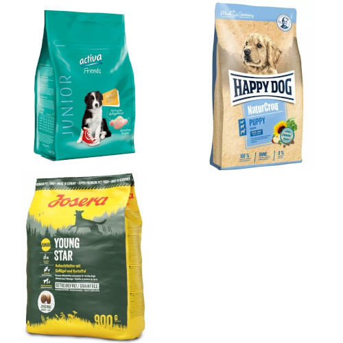 Testsieger und (sehr) gut im Test: Hunde-Trockenfutter für Welpen
