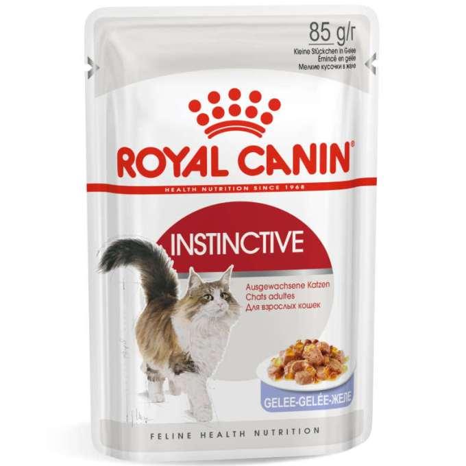 Testsieger und sehr gut im Test von K-Tipp 18/2017: Royal Canin Instinctive Gelee