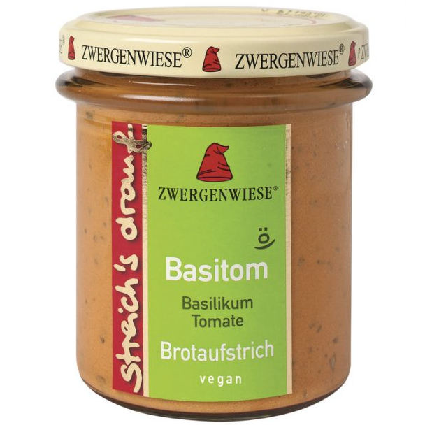 gut im Test von Stiftung Warentest 6/2020: Zwergenwiese Streich´s drauf Basitom Basilikum Tomate